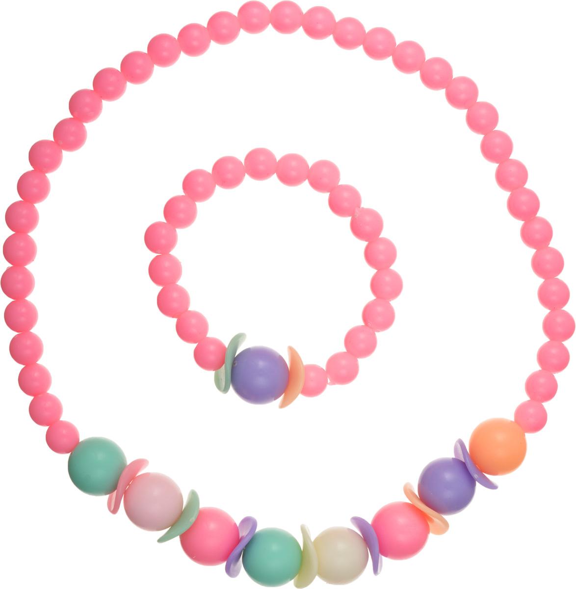 Baby\'s Joy Набор украшений для волос цвет розовый 2 шт ( AL 737_розовый )