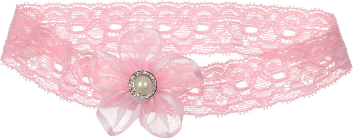 Babys Joy Повязка для волос цвет розовый MN 778MN 778_розовыйПовязка для волос Babys Joy выполнена из текстиля, имеет ажурную структуру и дополнена бантиком розового цвета, украшенным стразами. Повязка позволит не только убрать непослушные волосы с лица, но и придаст образу немного романтичности и очарования. Повязка для волос Babys Joy подчеркнет уникальность вашей маленькой модницы и станет прекрасным дополнением к ее неповторимому стилю.