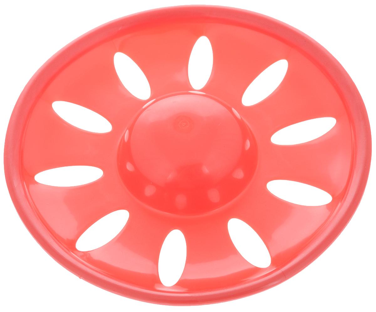 """Игрушка для собак Каскад """"Летающая тарелка"""", цвет: красный, диаметр 23 см. 27799304 27799304_красный"""