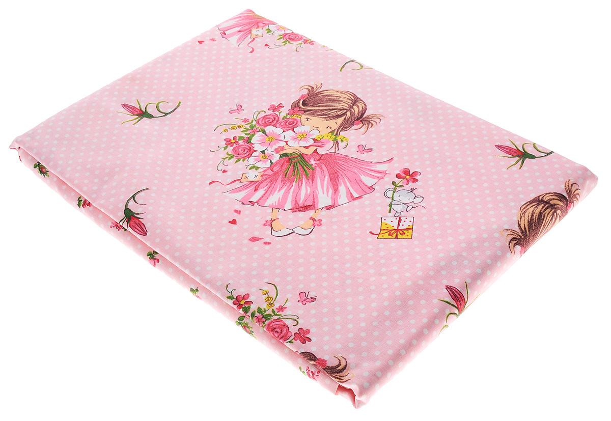 Блакiт Комплект детского постельного белья Куколка 3 предмета28184532Комплект детского постельного белья Блакiт Куколка состоит из наволочки, пододеяльника и простыни. Такой комплект идеально подойдет для кроватки вашей дочки и обеспечит ей здоровый сон. Комплект изготовлен из натурального 100% хлопка, дарящего малышке непревзойденную мягкость. Натуральный материал не раздражает даже самую нежную и чувствительную кожу ребенка, обеспечивая ему наибольший комфорт. На постельном белье Блакiт Куколка сон вашей малышки будет крепким и сладким. Уход: стирка при температуре до 60 °C, не отбеливать, барабанная сушка запрещена, можно гладить при высокой температуре, не подвергать химчистке.