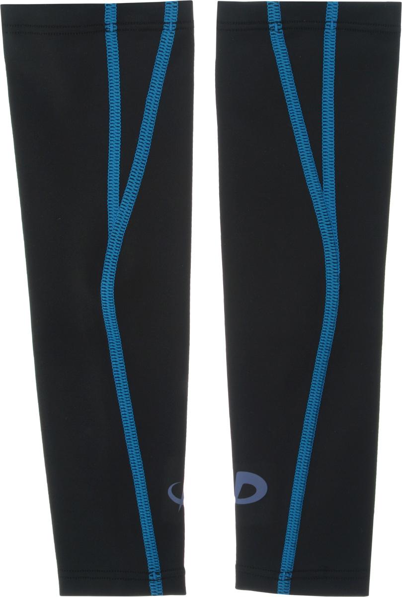 Рукав силовой Phiten X30, цвет: черный, синий, 2 шт. Размер S (19-25 см)SL535303Силовой рукав Phiten X30, выполненный из 85% полиэстера и 15% полиуретана, идеально подходит для поддержки и увеличения силы мышц (плеча/предплечья) спортсменов. Рукав снимает мышечное напряжение, повышает выносливость и силу мышц. Он мягко фиксирует суставы, но при этом абсолютно не стесняет движения. Благодаря пропитке из акватитана с фактором X30, рукав увеличивает эластичность мышц и связок, а также хорошо поглощает и испаряет пот, что позволяет продлить ощущение комфорта при тренировках. Изделие специально разработано таким образом, чтобы соответствовать форме руки и обеспечить плотное прилегание, а благодаря инновационным материалам, рукав действительно поможет вам в процессе тяжелой тренировки или любой серьезной нагрузки. Силовой рукав Phiten X30 способствует: - улучшению циркуляции крови в организме; - разгрузке поврежденного сустава; - уменьшению усталости; - снятию излишнего напряжения и скорейшему восстановлению...