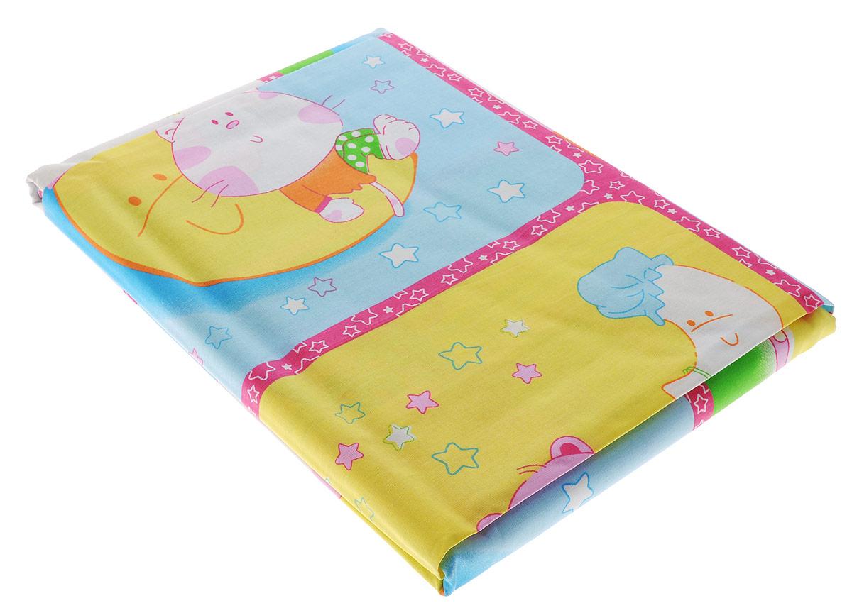 Блакiт Комплект детского постельного белья Сладкий сон 3 предмета28184487Комплект детского постельного белья Блакiт Сладкий сон состоит из наволочки, пододеяльника и простыни. Такой комплект идеально подойдет для кроватки вашего малыша и обеспечит ему здоровый сон. Комплект изготовлен из натурального 100% хлопка, дарящего малышу непревзойденную мягкость. Натуральный материал не раздражает даже самую нежную и чувствительную кожу ребенка, обеспечивая ему наибольший комфорт. На постельном белье Блакiт Сладкий сон сон вашего малыша будет действительно сладким. Уход: стирка при температуре до 60 °C, не отбеливать, барабанная сушка запрещена, можно гладить при высокой температуре, не подвергать химчистке.