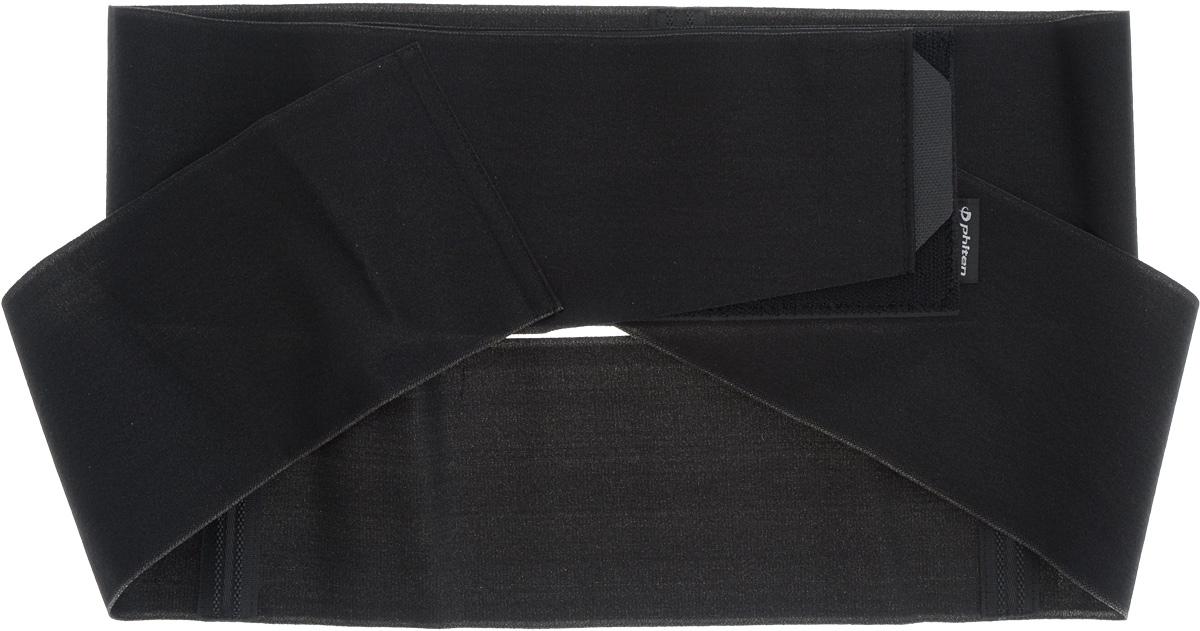 "Суппорт спины Phiten ""Waist Belt. Soft Type Double"". Размер М (70-100 см)"