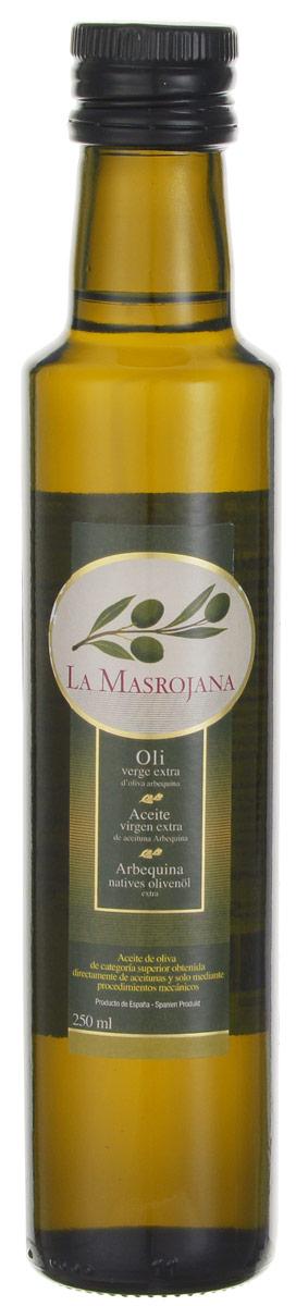 La Masrojana Extra Virgin масло оливковое, 0,25 л8420642000107Компания La Masrojana выпускает оливковое масло из одного сорта оливок - Арбекина. Из-за своего небольшого размера эти оливки собирают вручную, они содержат большое количество масла. Оливковое масло из сорта Арбекина - это легкая и нежная текстура . Вкус сладкий и фруктовый, с оттенками яблока и миндаля. Аромат - очень свежий и фруктовый, в первых тонах чувствуется томат, миндаль, укроп, зеленая трава. Кислотность - 0,2%, что по нормативам Испании считается лечебным оливковым маслом. Идеальное масло на любой случай! Особенно рекомендуется для овощей (свежих или вареных) и рыбы (на пару или на гриле), а также выпечки.