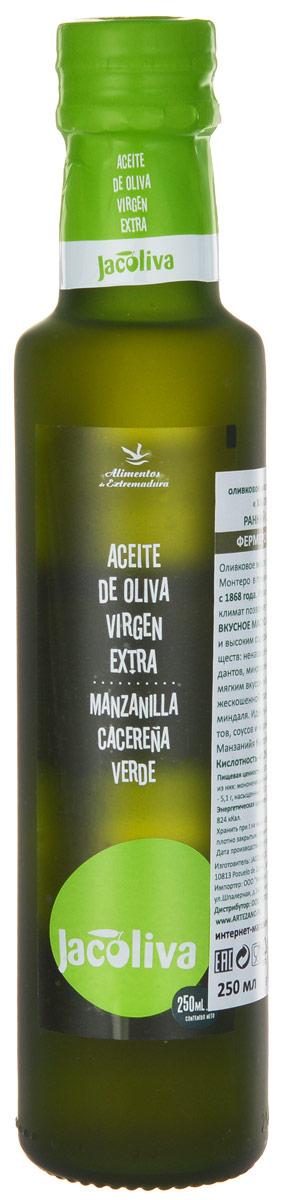 Jacoliva Verde Extra Virgin масло оливковое, 0,25 л 8424056020010