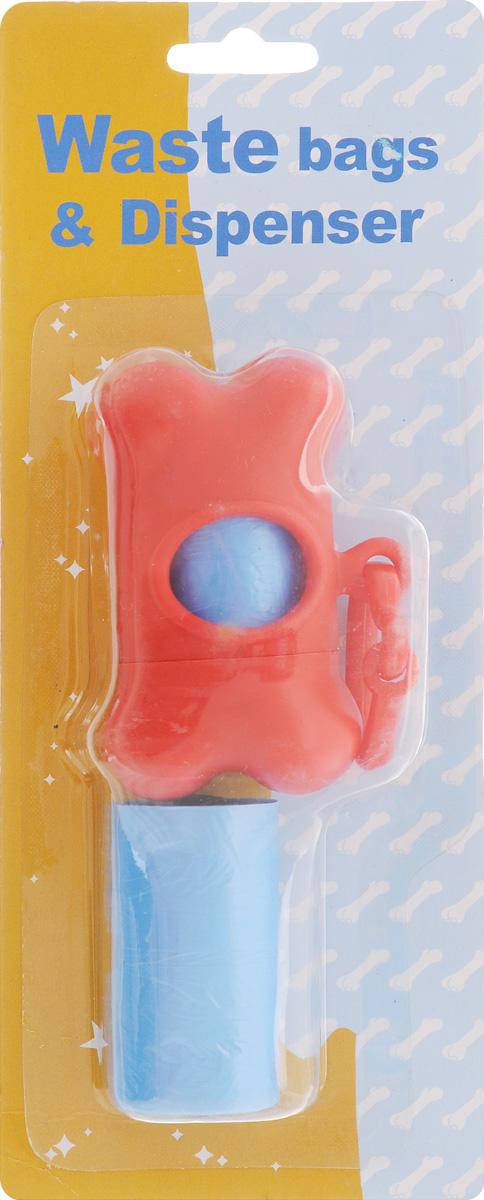 Гигиенические пакеты Каскад, с футляром, сменные, цвет: красный9312212_красныйГигиенические пакеты Каскад в футляре отлично подойдут для использования во время прогулок с собакой. Футляр, изготовленный из пластика в форме косточки, крепится к ручке поводка. Пакеты легко отрываются и позволяют убрать за собакой в любом месте. В комплекте предусмотрены сменные пакеты. Размер футляра: 5 х 8,5 х 4 см.