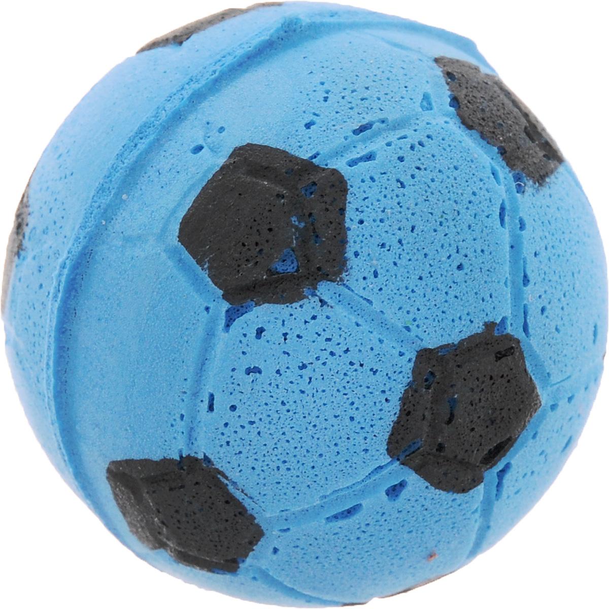 Игрушка для животных Каскад Мячик зефирный. Футбольный, цвет: синий, диаметр 4,5 см27799305Игрушка для животных Каскад Мячик зефирный. Футбольный, изготовленная из мягкого и прочного материала, обязательно понравится вашему питомцу. Подойдет для собак мелких пород и кошек. Изделие отличается прочностью и в то же время гибкостью и эластичностью, имеет необычную структуру, напоминающую зефир. Необычная и забавная игрушка прекрасно подойдет для игр вашего любимца.