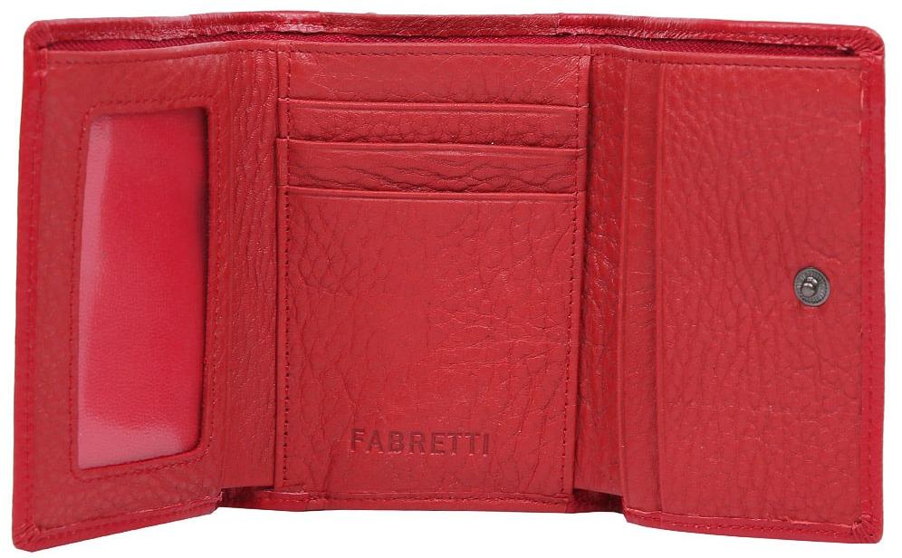 Кошелек женский Fabretti 42022-red