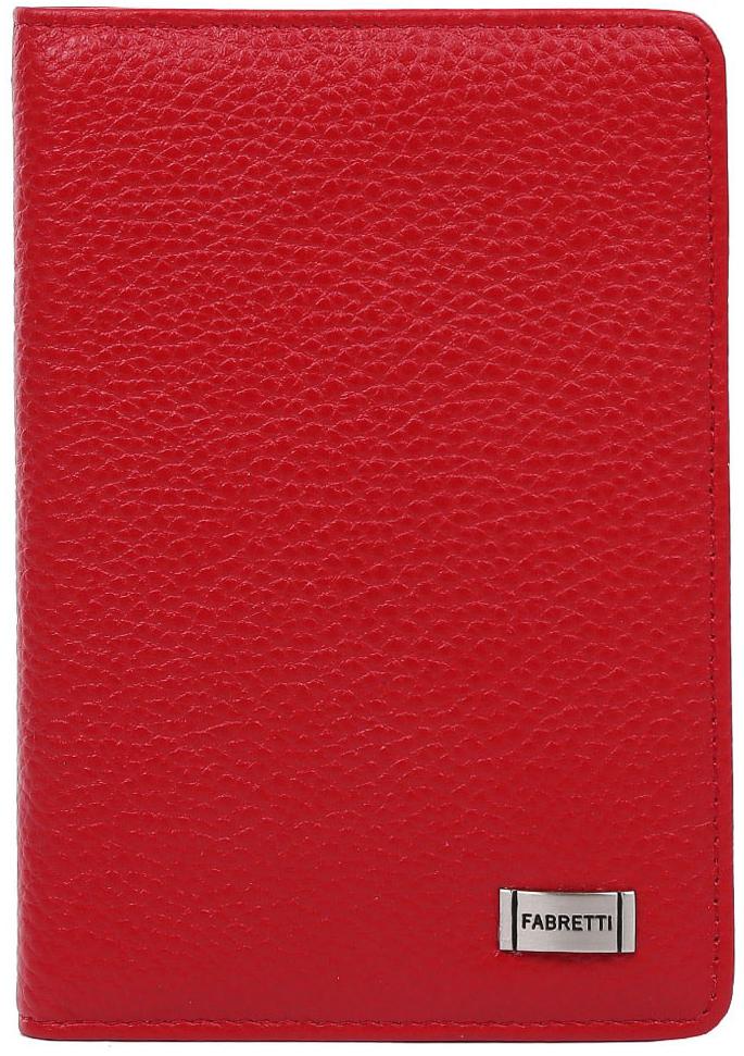Обложка для документов женская Fabretti 52502-1-red52502-1-redЛаконичная и стильная женская обложка для документов от итальянского бренда Fabretti выполнена из натуральной кожи, которая имеет невероятно мягкую и приятную фактуру. Внутри аксессуара расположены 5 отделений для дисконтных и кредитных карт, а также удобный вкладыш для документов. Яркий и насыщенный красный цвет и фурнитура под серебро дополняют классический и строгий дизайн модели.
