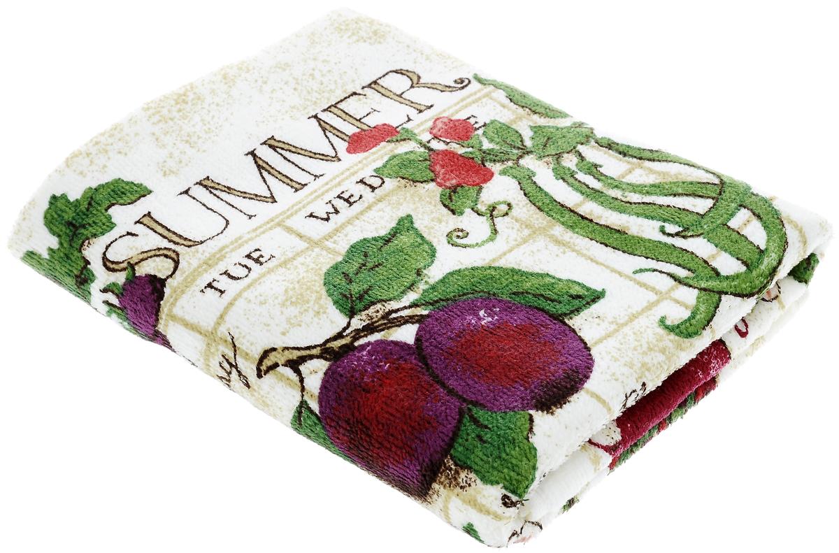 Полотенце кухонное Sunvim Дары лета, 40 х 70 см09-40ВКухонное полотенце Sunvim Дары лета, выполненное из 100% хлопка, оформлено ярким рисунком. Изделие предназначено для использования на кухне и в столовой. Такое полотенце станет отличным вариантом для практичной и современной хозяйки.