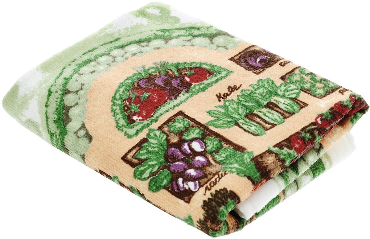 Полотенце кухонное Sunvim Урожай, 40 х 70 см09-40ВКухонное полотенце Sunvim Урожай, выполненное из 100% хлопка, оформлено ярким рисунком. Изделие предназначено для использования на кухне и в столовой. Такое полотенце станет отличным вариантом для практичной и современной хозяйки.