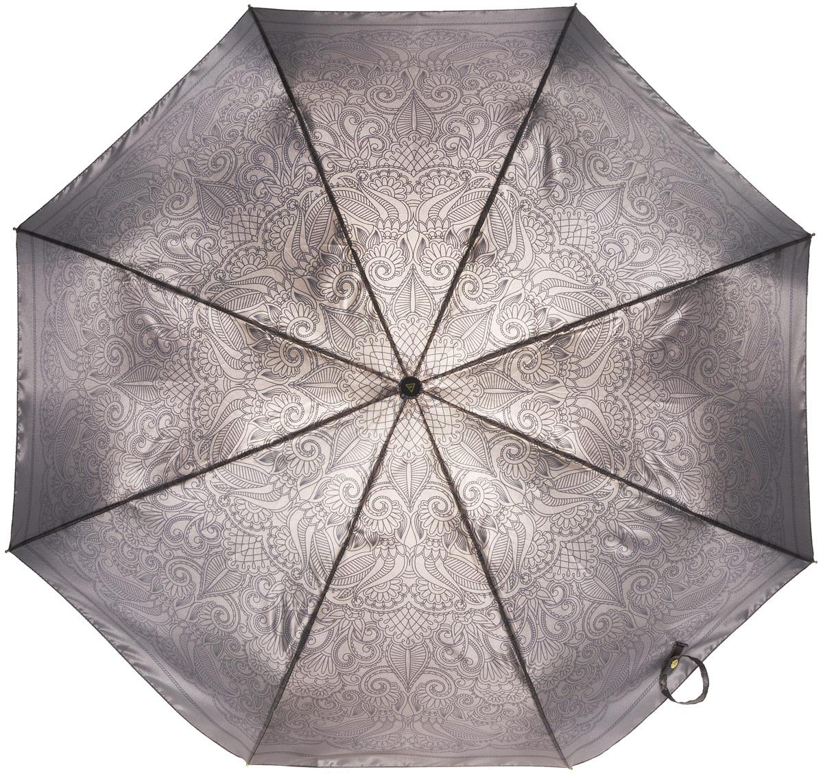 Зонт женский Fabretti, полный автомат, 3 сложения. S-16102-8S-16102-8Зонт женский Fabretti, суперавтомат, 3 сложения, сатин