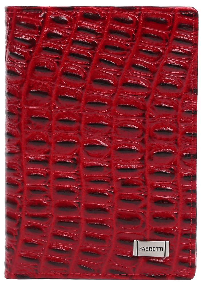 Обложка для документов женская Fabretti 54019-red cocco54019-red coccoЖенская обложка для документов от итальянского бренда Fabretti выполнена из натуральной фактурной кожи, с тиснением под крокодила. Внутри изделия имеется дополнительный вкладыш для документов и пять отделений, куда вы сможете поместить свои кредитные и дисконтные карты. Роскошный и яркий красный цвет, фурнитура выполненная под серебро превращают аксессуар в элегантную и стильную модель, которая подойдет для любительниц шика в каждой детали гардероба.