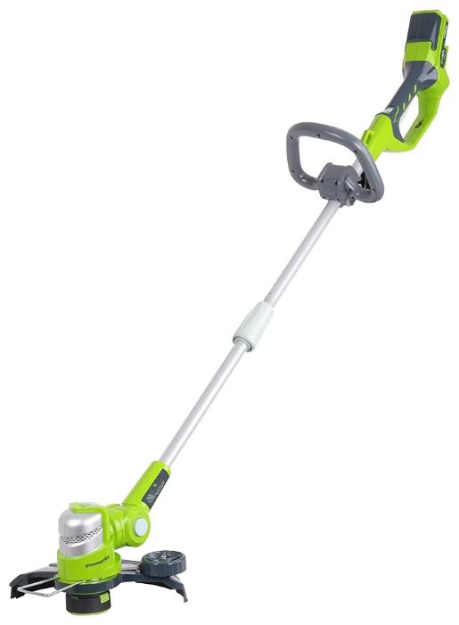 Триммер струнный GreenWorks 24В делюкс (без аккумуляторной батареи и зарядного устройства)