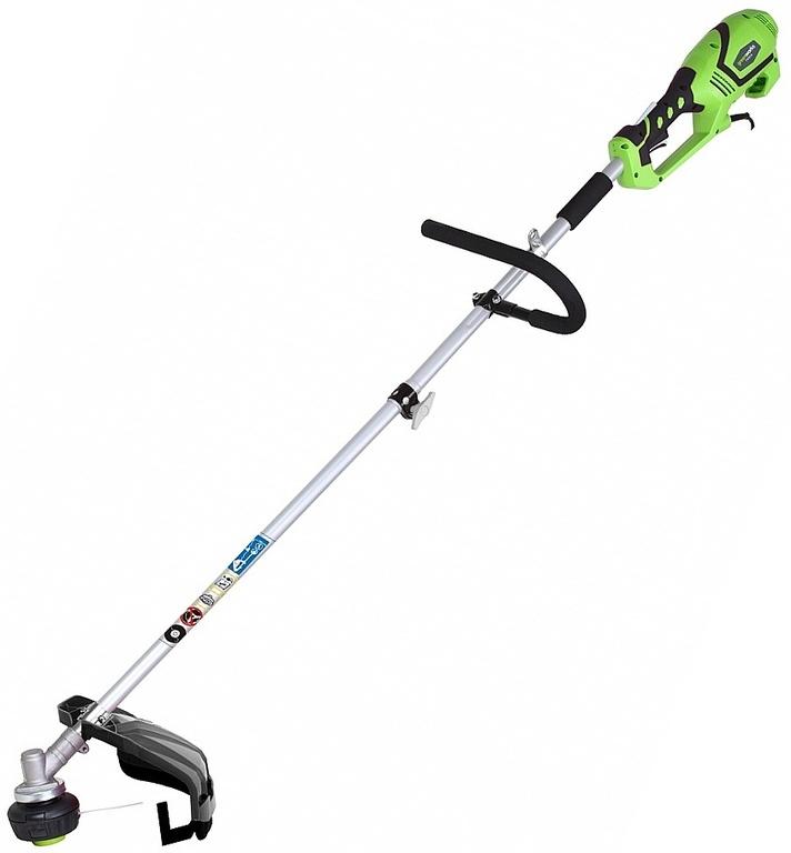 Триммер струнный GreenWorks 1200W TOP MOUNT 2в1