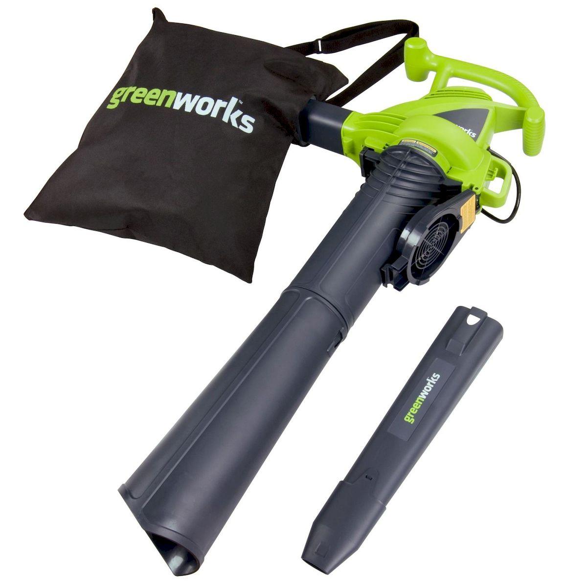 Воздуходувка/Пылесос GreenWorks 2800W 24077