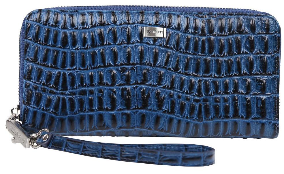 Кошелек женский Fabretti 77006-d.blue cocco77006-d.blue cocco