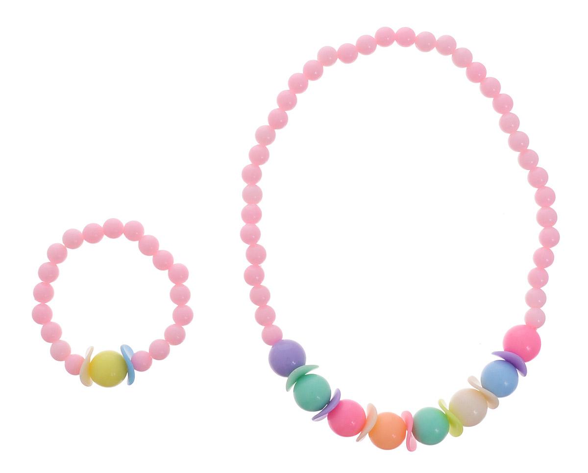 Baby\'s Joy Набор украшений для волос цвет светло-розовый 2 шт ( AL 737 )