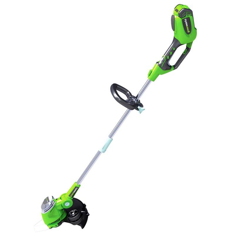 Триммер струнный GreenWorks 40В (без аккумуляторной батареи и зарядного устройства)