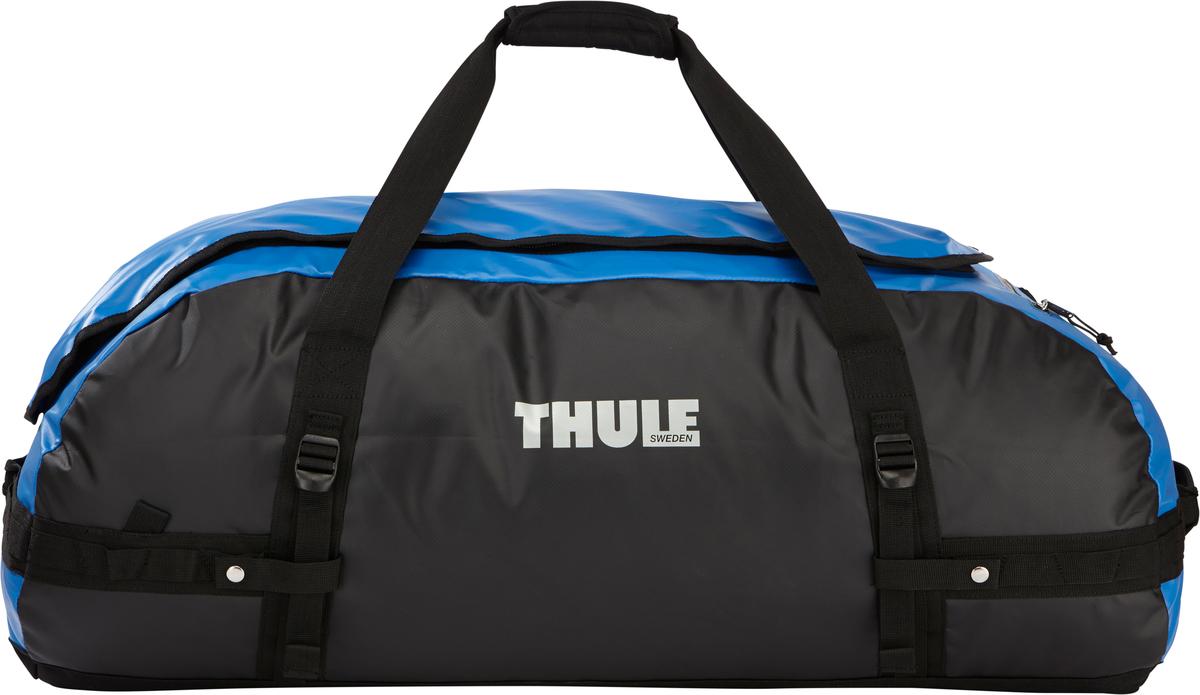 Туристическая сумка-баул Thule Chasm XL, цвет: синий, 130л203500Thule Chasm X-Large - Эти жесткие, устойчивые к неблагоприятным погодным условиям сумки с широко раскрывающимся основным отделением и съемными ремнями — ваши надежные спутники в любой поездке. Широко раскрывающееся отделение делает загрузку оборудования в сумку очень удобным. Боковые замки делают доступ к основному отделению удобным с любого угла Ремни складываются вдоль боковых сторон сумки. Ремни быстро превращают рюкзак в сумку. Прочная водонепроницаемая брезентовая ткань для удобной укладки вещей, которая легко складывается для хранения. Внутренние сетчатые карманы сохранят ваши вещи в порядке. Внешние фиксирующие ремни предотвращают содержимое сумки от падения на дно, когда она используется как рюкзак. Уплотненная нижняя часть сумки обеспечивает мягкое соприкосновение с землей. Блокировка застежки-молнии для защиты от воров (замок продается отдельно). Внешний сетчатый карман для небольших предметов.