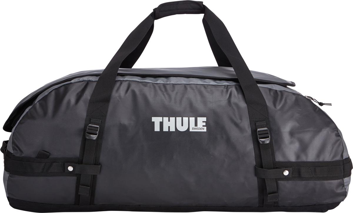 Туристическая сумка-баул Thule Chasm XL, цвет: серый, 130л203300Thule Chasm X-Large - Эти жесткие, устойчивые к неблагоприятным погодным условиям сумки с широко раскрывающимся основным отделением и съемными ремнями — ваши надежные спутники в любой поездке. Широко раскрывающееся отделение делает загрузку оборудования в сумку очень удобным. Боковые замки делают доступ к основному отделению удобным с любого угла Ремни складываются вдоль боковых сторон сумки. Ремни быстро превращают рюкзак в сумку. Прочная водонепроницаемая брезентовая ткань для удобной укладки вещей, которая легко складывается для хранения. Внутренние сетчатые карманы сохранят ваши вещи в порядке. Внешние фиксирующие ремни предотвращают содержимое сумки от падения на дно, когда она используется как рюкзак. Уплотненная нижняя часть сумки обеспечивает мягкое соприкосновение с землей. Блокировка застежки-молнии для защиты от воров (замок продается отдельно). Внешний сетчатый карман для небольших предметов.