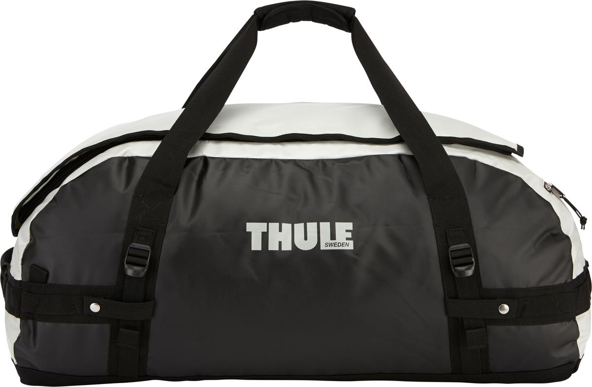 Туристическая сумка-баул Thule Chasm L, цвет: серый, 90л202800Thule Chasm Large - Эти жесткие, устойчивые к неблагоприятным погодным условиям сумки с широко раскрывающимся основным отделением и съемными ремнями — ваши надежные спутники в любой поездке. Широко раскрывающееся отделение делает загрузку оборудования в сумку очень удобным. Боковые замки делают доступ к основному отделению удобным с любого угла Ремни складываются вдоль боковых сторон сумки. Ремни быстро превращают рюкзак в сумку. Прочная водонепроницаемая брезентовая ткань для удобной укладки вещей, которая легко складывается для хранения. Внутренние сетчатые карманы сохранят ваши вещи в порядке. Внешние фиксирующие ремни предотвращают содержимое сумки от падения на дно, когда она используется как рюкзак. Уплотненная нижняя часть сумки обеспечивает мягкое соприкосновение с землей. Блокировка застежки-молнии для защиты от воров (замок продается отдельно). Внешний сетчатый карман для небольших предметов.