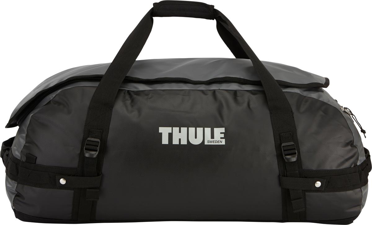 Туристическая сумка-баул Thule Chasm L, цвет: темно-серый, 90л202700Thule Chasm Large - Эти жесткие, устойчивые к неблагоприятным погодным условиям сумки с широко раскрывающимся основным отделением и съемными ремнями — ваши надежные спутники в любой поездке. Широко раскрывающееся отделение делает загрузку оборудования в сумку очень удобным. Боковые замки делают доступ к основному отделению удобным с любого угла Ремни складываются вдоль боковых сторон сумки. Ремни быстро превращают рюкзак в сумку. Прочная водонепроницаемая брезентовая ткань для удобной укладки вещей, которая легко складывается для хранения. Внутренние сетчатые карманы сохранят ваши вещи в порядке. Внешние фиксирующие ремни предотвращают содержимое сумки от падения на дно, когда она используется как рюкзак. Уплотненная нижняя часть сумки обеспечивает мягкое соприкосновение с землей. Блокировка застежки-молнии для защиты от воров (замок продается отдельно). Внешний сетчатый карман для небольших предметов.