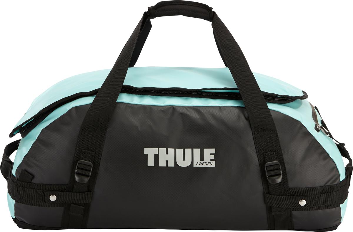 Туристическая сумка-баул Thule Chasm M, цвет: голубой, 70л202600Thule Chasm Medium - Эти жесткие, устойчивые к неблагоприятным погодным условиям сумки с широко раскрывающимся основным отделением и съемными ремнями — ваши надежные спутники в любой поездке. Широко раскрывающееся отделение делает загрузку оборудования в сумку очень удобным. Боковые замки делают доступ к основному отделению удобным с любого угла Ремни складываются вдоль боковых сторон сумки. Ремни быстро превращают рюкзак в сумку. Прочная водонепроницаемая брезентовая ткань для удобной укладки вещей, которая легко складывается для хранения. Внутренние сетчатые карманы сохранят ваши вещи в порядке. Внешние фиксирующие ремни предотвращают содержимое сумки от падения на дно, когда она используется как рюкзак. Уплотненная нижняя часть сумки обеспечивает мягкое соприкосновение с землей. Блокировка застежки-молнии для защиты от воров (замок продается отдельно). Внешний сетчатый карман для небольших предметов.