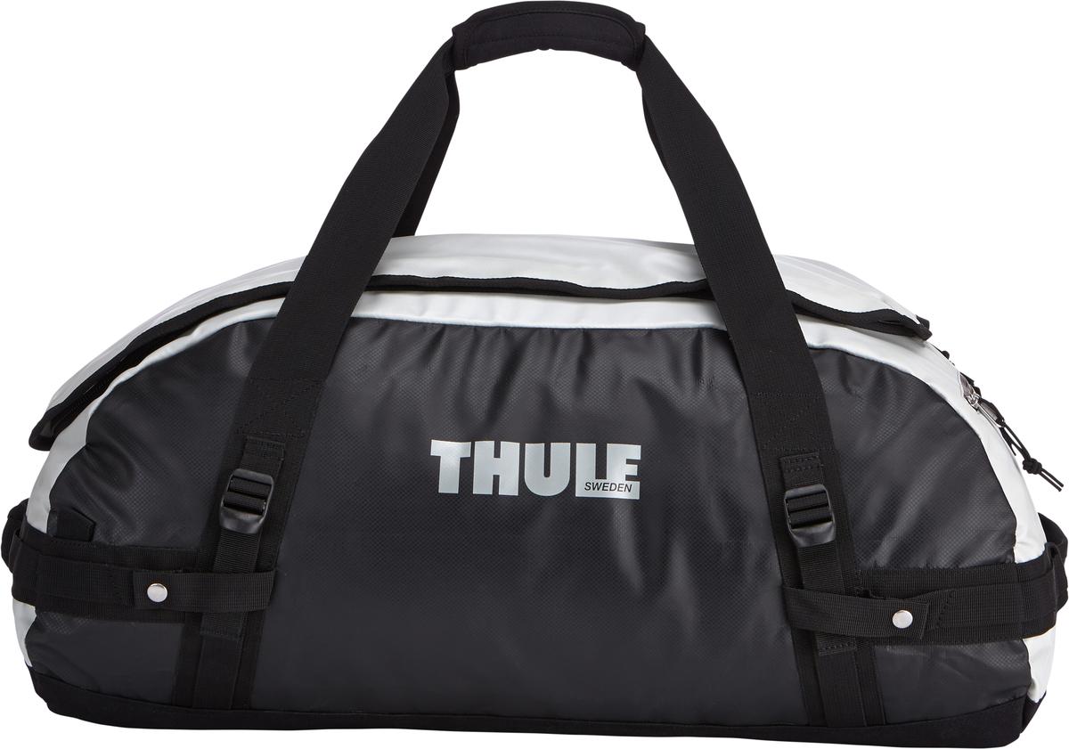 Туристическая сумка-баул Thule Chasm M, цвет: серый, 70л202300Thule Chasm Medium - Эти жесткие, устойчивые к неблагоприятным погодным условиям сумки с широко раскрывающимся основным отделением и съемными ремнями — ваши надежные спутники в любой поездке. Широко раскрывающееся отделение делает загрузку оборудования в сумку очень удобным. Боковые замки делают доступ к основному отделению удобным с любого угла Ремни складываются вдоль боковых сторон сумки. Ремни быстро превращают рюкзак в сумку. Прочная водонепроницаемая брезентовая ткань для удобной укладки вещей, которая легко складывается для хранения. Внутренние сетчатые карманы сохранят ваши вещи в порядке. Внешние фиксирующие ремни предотвращают содержимое сумки от падения на дно, когда она используется как рюкзак. Уплотненная нижняя часть сумки обеспечивает мягкое соприкосновение с землей. Блокировка застежки-молнии для защиты от воров (замок продается отдельно). Внешний сетчатый карман для небольших предметов.