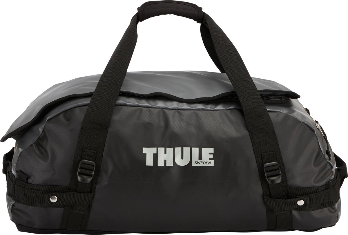 Туристическая сумка-баул Thule Chasm M, цвет: темно-серый, 70л202200Thule Chasm Medium - Эти жесткие, устойчивые к неблагоприятным погодным условиям сумки с широко раскрывающимся основным отделением и съемными ремнями — ваши надежные спутники в любой поездке. Широко раскрывающееся отделение делает загрузку оборудования в сумку очень удобным. Боковые замки делают доступ к основному отделению удобным с любого угла Ремни складываются вдоль боковых сторон сумки. Ремни быстро превращают рюкзак в сумку. Прочная водонепроницаемая брезентовая ткань для удобной укладки вещей, которая легко складывается для хранения. Внутренние сетчатые карманы сохранят ваши вещи в порядке. Внешние фиксирующие ремни предотвращают содержимое сумки от падения на дно, когда она используется как рюкзак. Уплотненная нижняя часть сумки обеспечивает мягкое соприкосновение с землей. Блокировка застежки-молнии для защиты от воров (замок продается отдельно). Внешний сетчатый карман для небольших предметов.
