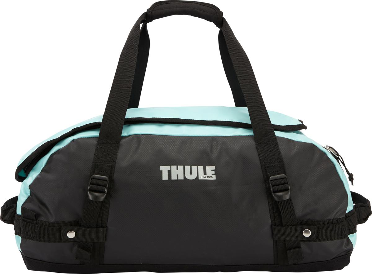 Туристическая сумка-баул Thule Chasm S, цвет: голубой, 40л202100Thule Chasm Small - Эти жесткие, устойчивые к неблагоприятным погодным условиям сумки с широко раскрывающимся основным отделением и съемными ремнями — ваши надежные спутники в любой поездке. Широко раскрывающееся отделение делает загрузку оборудования в сумку очень удобным. Боковые замки делают доступ к основному отделению удобным с любого угла Ремни складываются вдоль боковых сторон сумки. Ремни быстро превращают рюкзак в сумку. Прочная водонепроницаемая брезентовая ткань для удобной укладки вещей, которая легко складывается для хранения. Внутренние сетчатые карманы сохранят ваши вещи в порядке. Внешние фиксирующие ремни предотвращают содержимое сумки от падения на дно, когда она используется как рюкзак. Уплотненная нижняя часть сумки обеспечивает мягкое соприкосновение с землей. Блокировка застежки-молнии для защиты от воров (замок продается отдельно). Внешний сетчатый карман для небольших предметов.