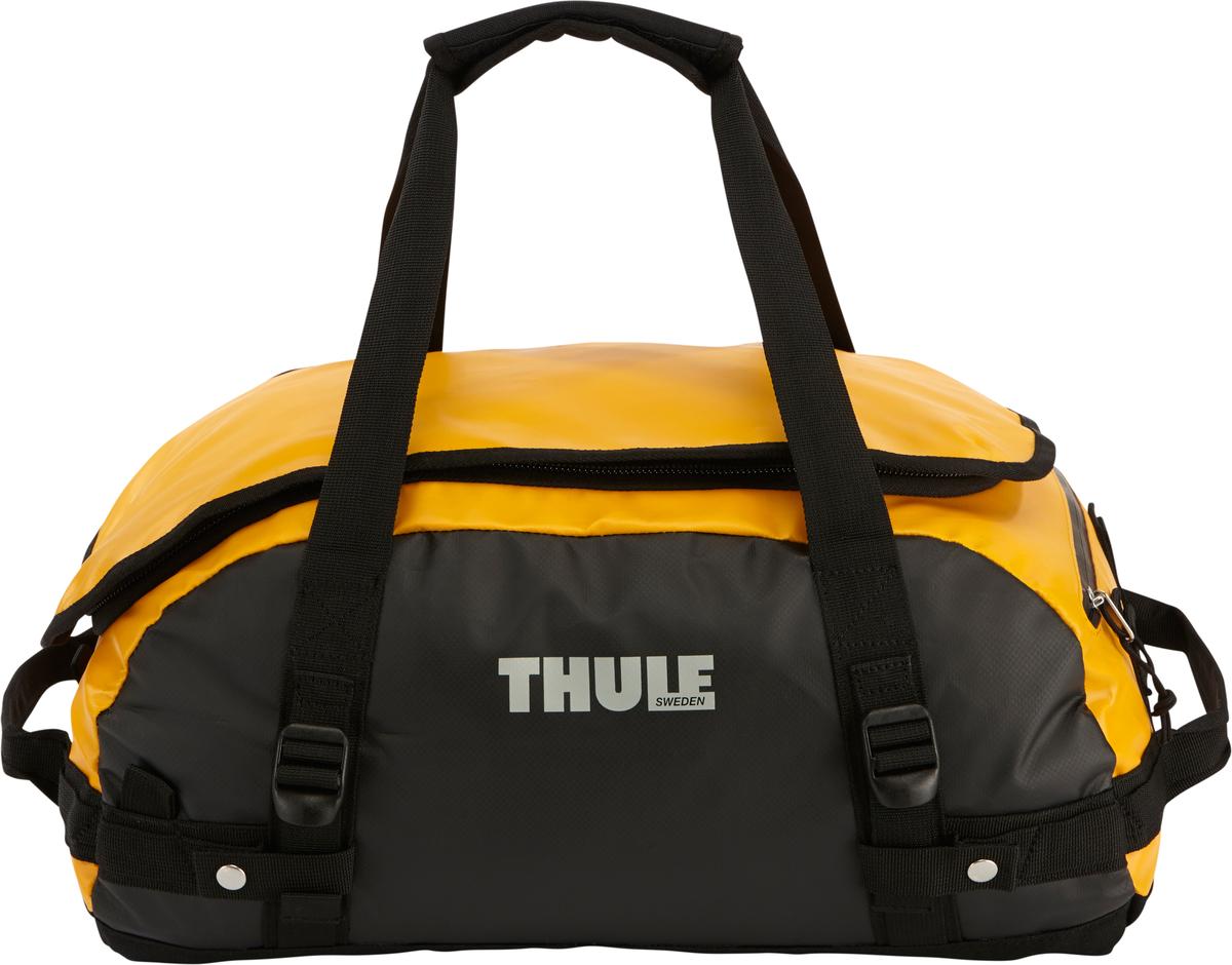 Туристическая сумка-баул Thule Chasm XS, цвет: оранжевый, 27л201400Thule Chasm X-Small - Эти жесткие, устойчивые к неблагоприятным погодным условиям сумки с широко раскрывающимся основным отделением и съемными ремнями — ваши надежные спутники в любой поездке. Широко раскрывающееся отделение делает загрузку оборудования в сумку очень удобным. Боковые замки делают доступ к основному отделению удобным с любого угла Ремни складываются вдоль боковых сторон сумки. Ремни быстро превращают рюкзак в сумку. Прочная водонепроницаемая брезентовая ткань для удобной укладки вещей, которая легко складывается для хранения. Внутренние сетчатые карманы сохранят ваши вещи в порядке. Внешние фиксирующие ремни предотвращают содержимое сумки от падения на дно, когда она используется как рюкзак. Уплотненная нижняя часть сумки обеспечивает мягкое соприкосновение с землей. Блокировка застежки-молнии для защиты от воров (замок продается отдельно). Внешний сетчатый карман для небольших предметов.
