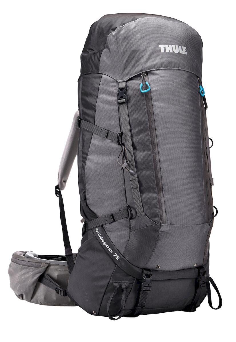 Рюкзак треккинговый женский Thule Guidepost, цвет: серый, 75л206402Женский туристический рюкзак Thule Guidepost 75 л - Thule Guidepost 75 л идеально подходит для недельных походов. Рюкзак отличается настраиваемой системой крепления TransHub, обеспечивающей идеальную посадку, поворачивающимся набедренным ремнем, который позволяет рюкзаку повторять ваши движения, специальными наплечными и набедренными ремнями для женщин и крышкой, способной трансформироваться в дополнительный рюкзак, который поможет вам покорить любую вершину. Легкая регулировка ремней для торса на 15 см обеспечивает идеальную посадку, а наплечные ремни QuickFit позволяют выбрать из один из трех вариантов длины наплечных ремней Система крепления Transhub с алюминиевой опорой и проволочным каркасом из пружинной стали позволяют перенести вес рюкзака на бедра, обеспечивая более удобную переноску Поворачивающийся набедренный ремень позволяет рюкзаку повторять ваши движения, обеспечивая большую естественность передвижения и улучшенный баланс Съемная крышка...