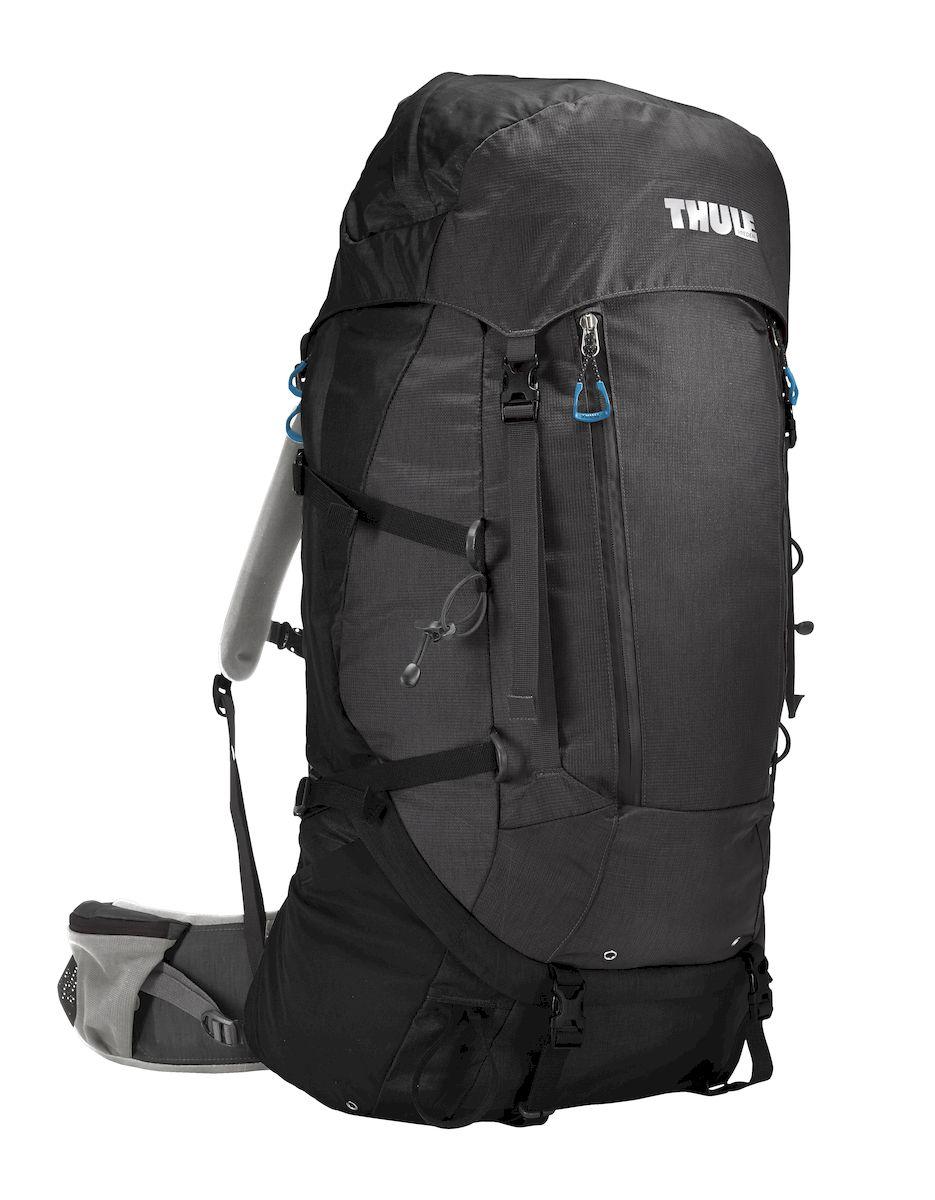 Рюкзак треккинговый мужской Thule Guidepost, цвет: черно-серый, 65л206300Мужской туристический рюкзак Thule Guidepost 65 л - Удобный рюкзак для двухдневных/недельных путешествий Thule Guidepost 65 л отличается настраиваемой системой крепления TransHub, обеспечивающей идеальную посадку, поворачивающимся набедренным ремнем, который позволяет рюкзаку повторять ваши движения, и крышкой, способной трансформироваться в дополнительный рюкзак, который поможет вам покорить любую вершину. Легкая регулировка ремней для торса на 15 см обеспечивает идеальную посадку, а наплечные ремни QuickFit позволяют выбрать из один из трех вариантов длины наплечных ремней Система крепления Transhub с алюминиевой опорой и проволочным каркасом из пружинной стали позволяют перенести вес рюкзака на бедра, обеспечивая более удобную переноску Поворачивающийся набедренный ремень позволяет рюкзаку повторять ваши движения, обеспечивая большую естественность передвижения и улучшенный баланс Съемная крышка трансформируется в просторный рюкзак 24 л, позволяя сочетать два...