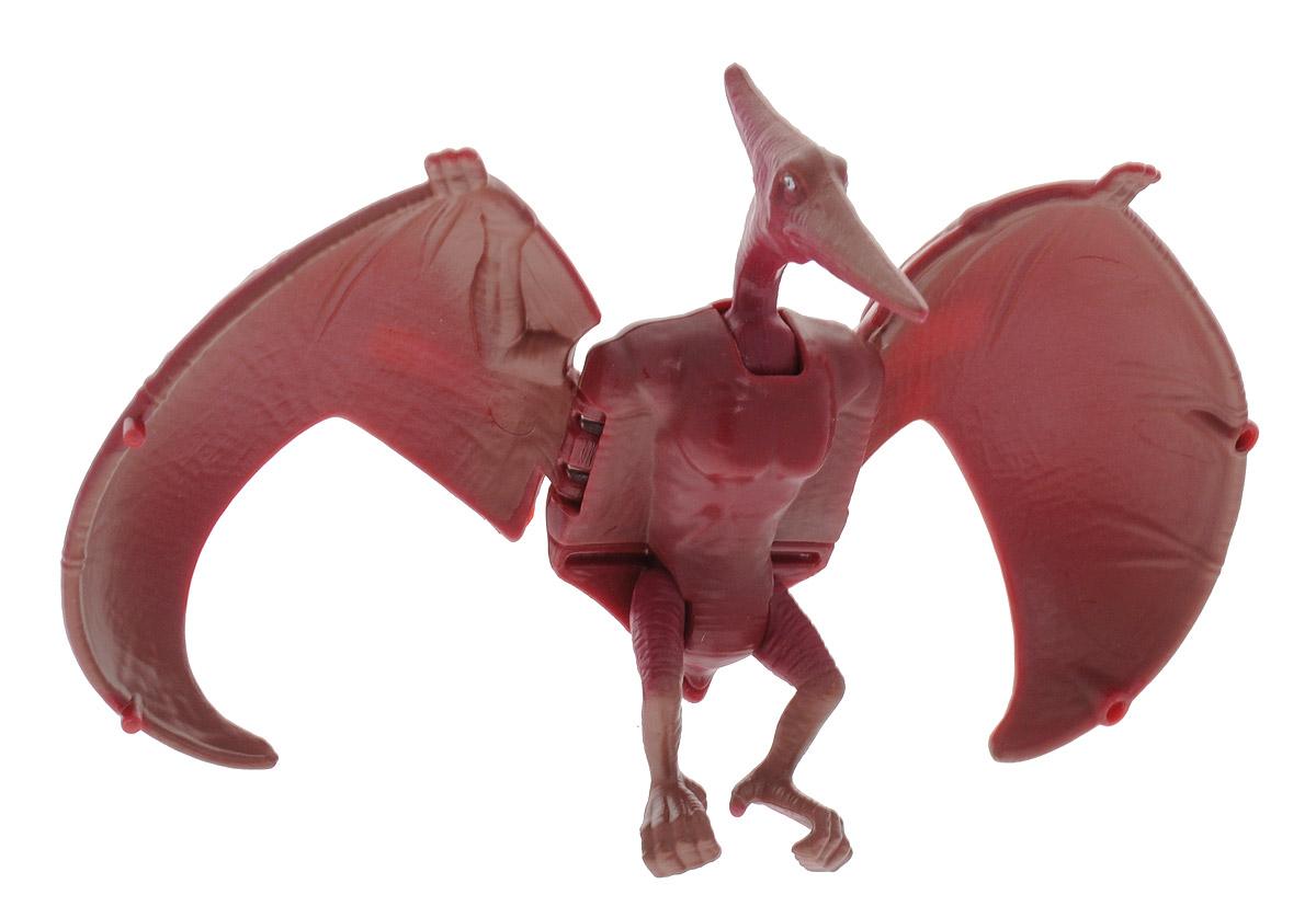 Hatchn Heroes Яйцо-трансформер Птеранодон84551Птеранодоны - род птерозавров, летающих хищников и предков птиц. Размах их крыльев достигал 15 метров, а основу питания - рыба и мелкие морские обитатели. Птеранодоны были очень подвижны в воздухе, могли совершать быстрые маневры и резко пикировать вниз. Это достигалось благодаря специальному гребню на холке, увеличивающему аэродинамические свойства этих потрясающих существ. Яйцо-трансформер Hatchn Heroes Птеранодон полностью повторяет облик летающих ящеров. У фигурки большие крылья, подвижные части тела и бордовый окрас. Динозавр легко трансформируется, раскладываясь в фигурку и складываясь в овальное яйцо. С помощью игрушки ребенок сможет познакомиться с миром динозавров и придумать увлекательные сюжеты для игры. Игрушка изготовлена из качественного и безопасного материала.