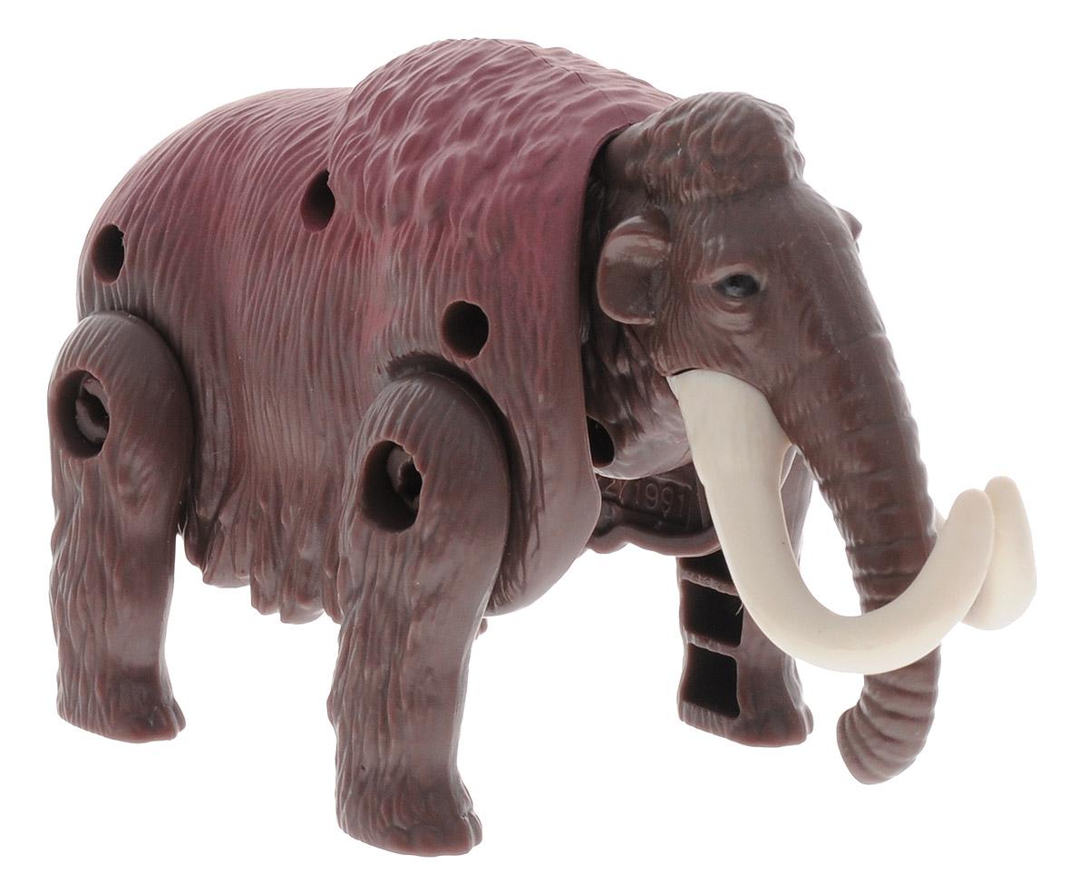 Hatchn Heroes Яйцо-трансформер Мамонт84556Мамонт жил более 10 тысяч лет назад и предпочитали суровый арктический климат, благодаря длинной шерсти и запасам подкожного жира. Они были растительноядными и довольно миролюбивыми животными. Яйцо- трансформер Hatchn Heroes Мамонт детально повторяет реального животного того периода и оснащен подвижными частями тела, благодаря чему может компактно складываться в округлую форму, напоминающую яйцо. Мамонт имеет коричневый окрас, хобот и большие бивни, и подойдет для игры вместе с фигурками других доисторических животных. Такой трансформер поможет развить интерес к окружающему миру и будет стимулировать логическое мышление, внимательность и моторику рук.