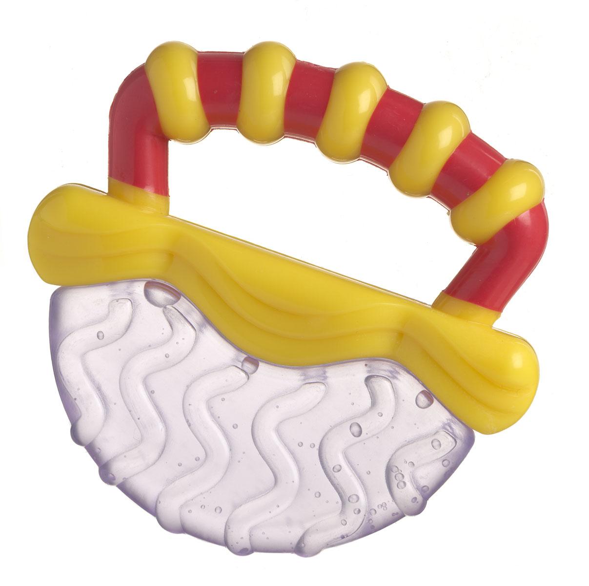 Playgro Игрушка-прорезыватель0183013Охлаждающие прорезыватели выполнены в виде тропических фруктов и наполнены водой. Прорезыватель достаточно охладить в холодильнике в течение нескольких минут. Прохладная, текстурированная поверхность позволит малышу унять зуд, охладит десны. Каждый фрукт имеет свой фактурный узор. Ручки прорезывателей были специально разработан таким образом, чтобы малышу было удобно их держать, а рельефы на них стимулируют тактильные ощущения и развивают мелкую моторику. Яркие цвета прорезывателя привлекают внимание ребенка, побуждают к действиям, стимулируют зрение.