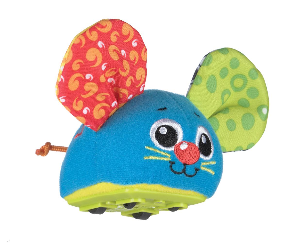 Playgro Игрушка Инерционная Мышка0183037Красочная инерционная машинка Мышка с шуршащими ушками. Оттягивая и запуская машинку, малыш будет познавать причинно-следственные связи, учиться понимать природу движущихся объектов и пространственные отношения, а также тренировать когнитивные навыки.