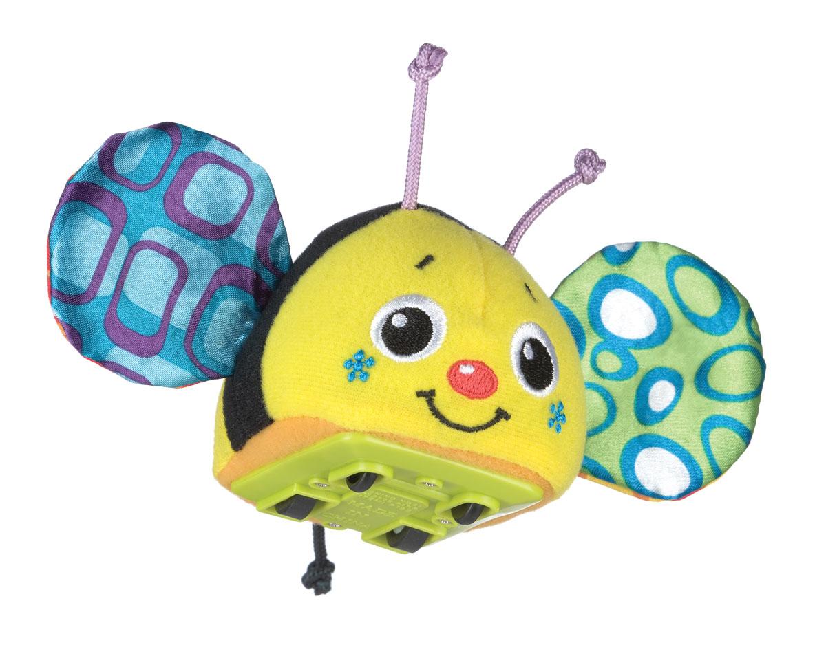 Playgro Игрушка инерционная Пчелка0183040Инерционная машинка. У пчелки шуршат крылышки. Оттягивая и запуская машинку, малыш будет познавать причинно-следственные связи, учиться понимать природу движущихся объектов и пространственные отношения, а также тренировать когнитывные навыки.