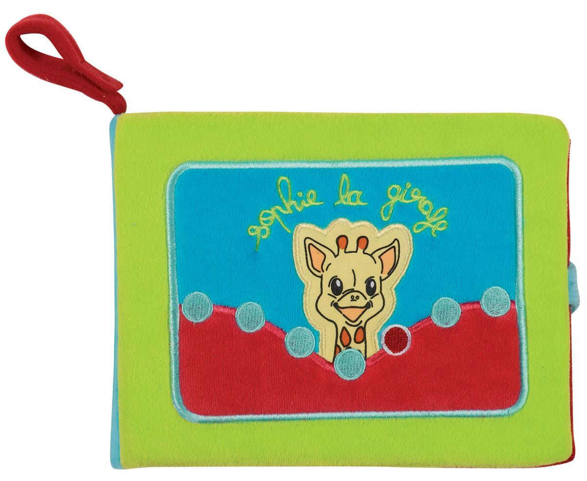 Vulli Игрушка-фотоальбом Жирафик Софи230261Развивающая книжка, сделанная в виде небольшого фотоальбома, доставит много радости малышам и их родителям. Может использоваться в качестве развивающей игрушки или альбома для хранения памятных фотографий. Высота 20 см