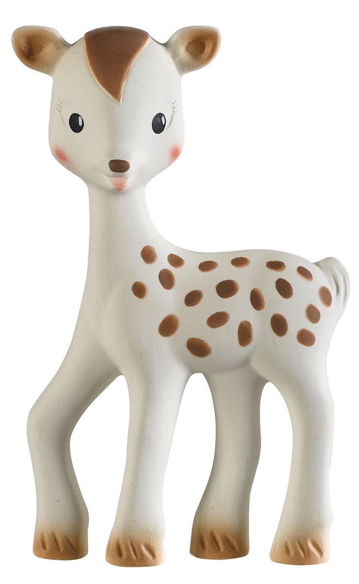 Vulli Игрушка-прорезыватель Олененок Фанфан616340Олененок Фанфан весит около 50 грамм и ростом всего 15 см, поэтому даже новорожденный малыш сможет с ним играть. Олененок Фанфан – уникальная развивающая игрушка от производителя каучуковых игрушек №1 в мире, компании SAS VULLI France. Благодаря участию в разработке игрушки ведущих французских педиатров, игрушка не только поможет малышу снять зуд с воспаленных десен, но и будет способствовать развитию 5 органов чувств ребенка. Осязание: мягкая поверхность SOFT TOUCH специально разработана для стимулирования осязания. Прикасаясь к игрушке, малыш чувствует материал особой текстуры, который на подсознательном уровне напоминает ему нежную мамину кожу и успокаивает малыша, развивает тактильные ощущения. Стимулирование осязания крайне важно для ребенка – оно является основой для развития речи и способности выражать мысли в более позднем возрасте. Зрение: Контрастные цветные элементы на теле олененка научат малыша различать цвета, фокусировать зрение на мелких объектах разных форм и...
