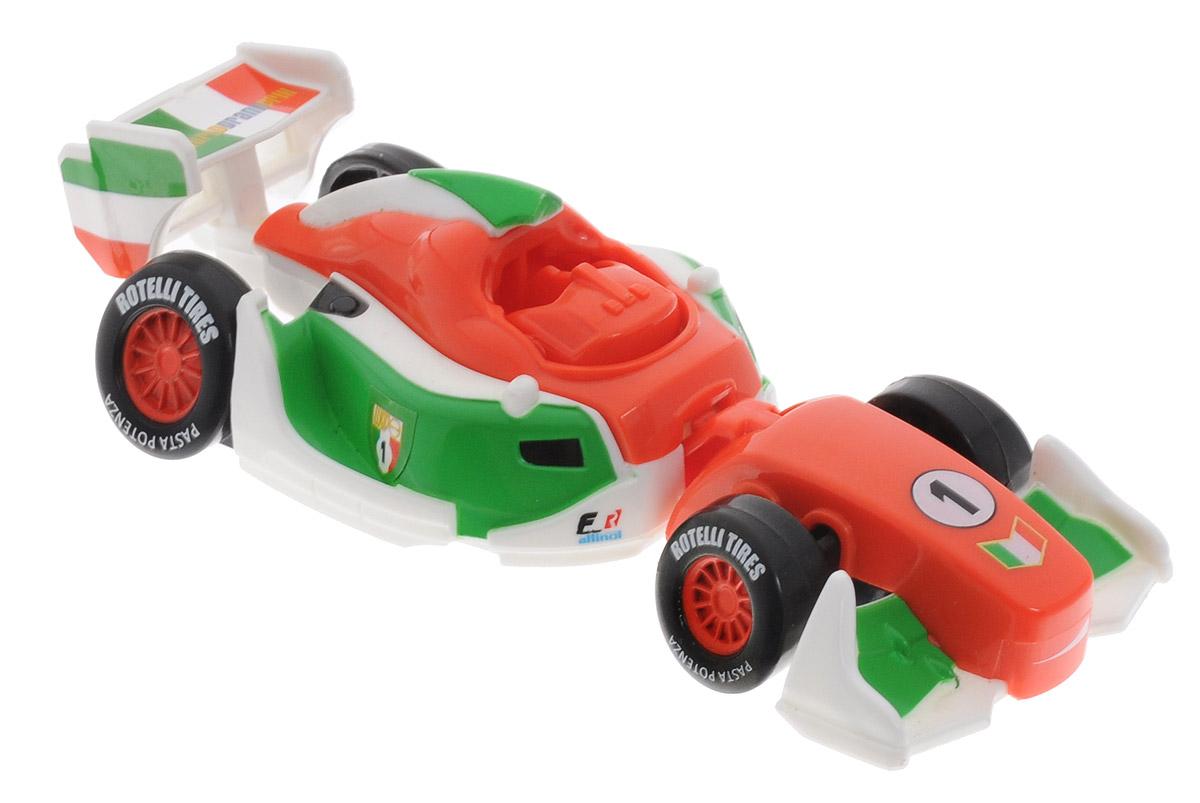 EggStars Яйцо-трансформер Франческо Бернулли84540Оригинальная игрушка EggStars Франческо Бернулли надолго займет внимание вашего ребенка. Франческо Бернулли из мультфильма Тачки-2 - самый быстрый гоночный автомобиль в мире! Он с детства тренировался на знаменитом итальянском треке и быстро стал чемпионом мира в гонках Формулы-1. Франческо очень самодоволен и стремится лишь к одной цели - стать победителем Мирового Гран-При. Но у него есть один соперник, который может нарушить эти планы - знаменитый Молния МакКуин! Корпус Франческо окрашен в цвета итальянского флага. Это настоящий автомобиль Формулы-1, быстрый болид, все формы которого продуманны до мелочей. Яйцо-трансформер Франческо Бернулли легко преображается в машинку из мультфильма. Всего несколько движений, и из овала получается красивый гоночный автомобиль! Колеса машинки не вращаются.