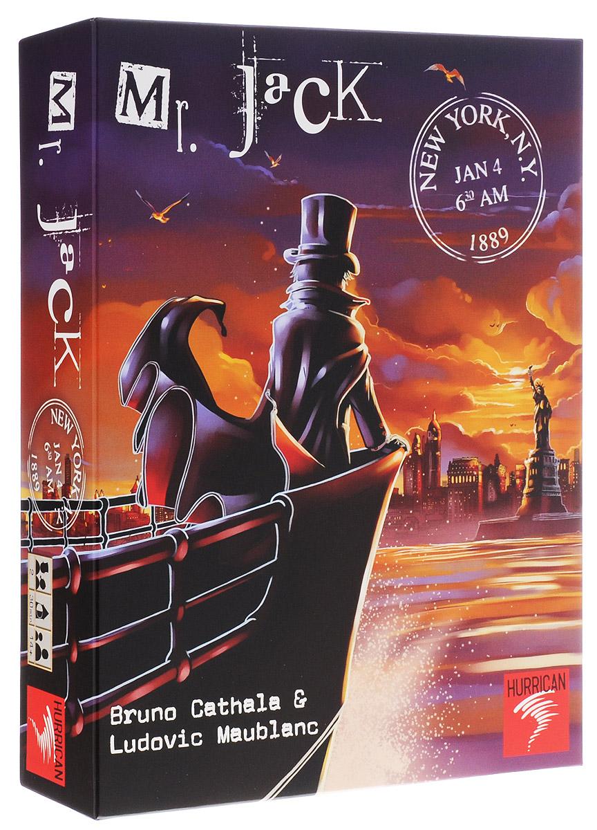 Hurrican Настольная игра Мистер Джек в Лондоне7612577001002Это первая игра в серии детективных игр про Мистера Джека. В настольной игре Hurrican Мистер Джек в Лондоне в поединке интеллектов сойдутся два игрока. Один будет играть за сыщиков, другой за Мистера Джека. На протяжении нескольких раундов, в одном из самых мрачных районов Лондона - Уайтчепеле, сыщикам предстоит схватить Мистера Джека. Легендарный убийца ловко замаскировался под одного из персонажей. Единственный способ вывести мистера Джека на чистую воду - научиться использовать лондонские газовые фонари. Цель Джека - не дать детективам себя поймать до наступления рассвета (то есть до конца восьмого хода) или покинуть район под прикрытием темноты. Детектив должен определить, под чьей маской скрывается Джек и поймать его до наступления рассвета. Средняя продолжительность игры: 30 минут.
