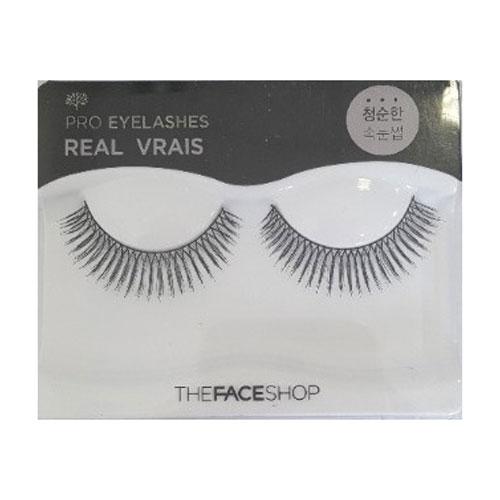 The Face Shop Daily Beauty Накладные реснички, №9 REALУТ000001656Легкие естественные, они сделают ваш взгляд открытым и соблазнительным.В комплекте мини клей.