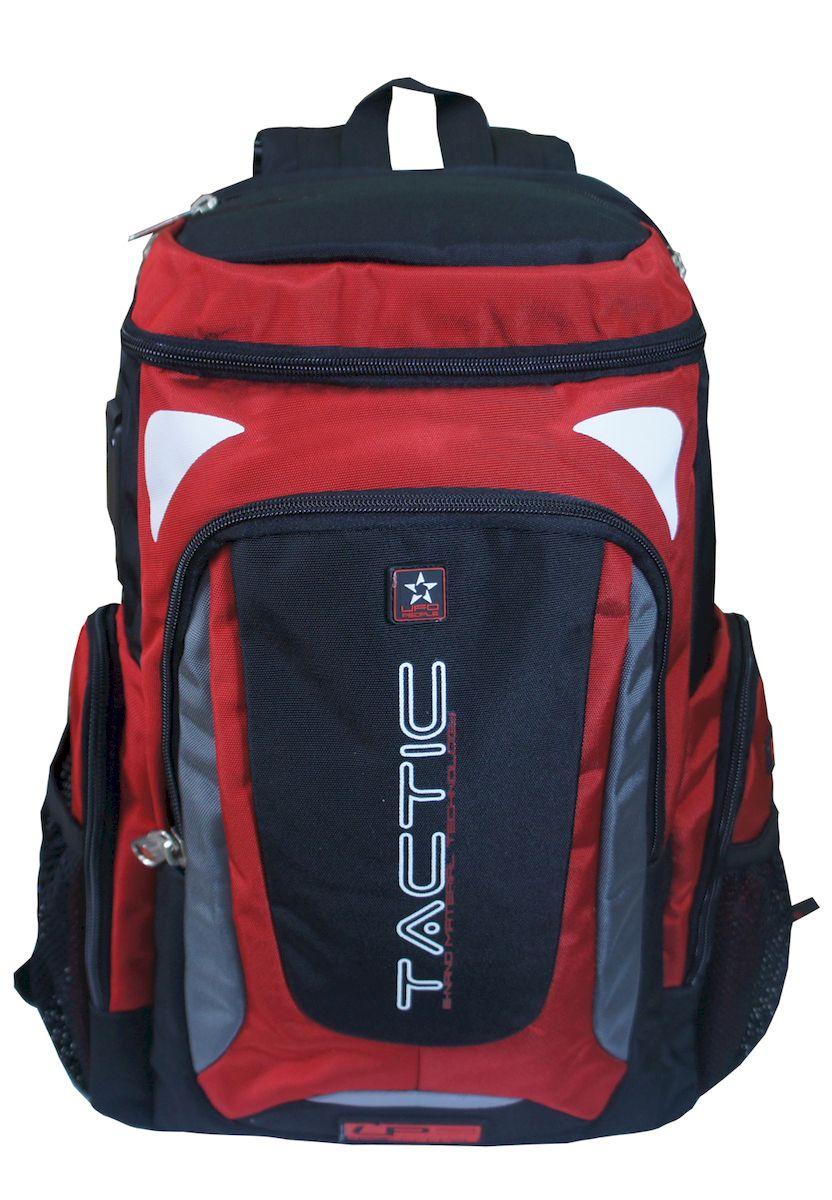 Рюкзак спортивный UFO people, цвет: красный. 23 л. 459-1459-1Плотная спинка с мягкими вставками. Нагрудный фиксатор лямок. Усиленные нейлоновые нитки. Уплотненное дно. Надежная окантовка тесьмой. Спортивный дизайн. Плотные усиленные лямки.
