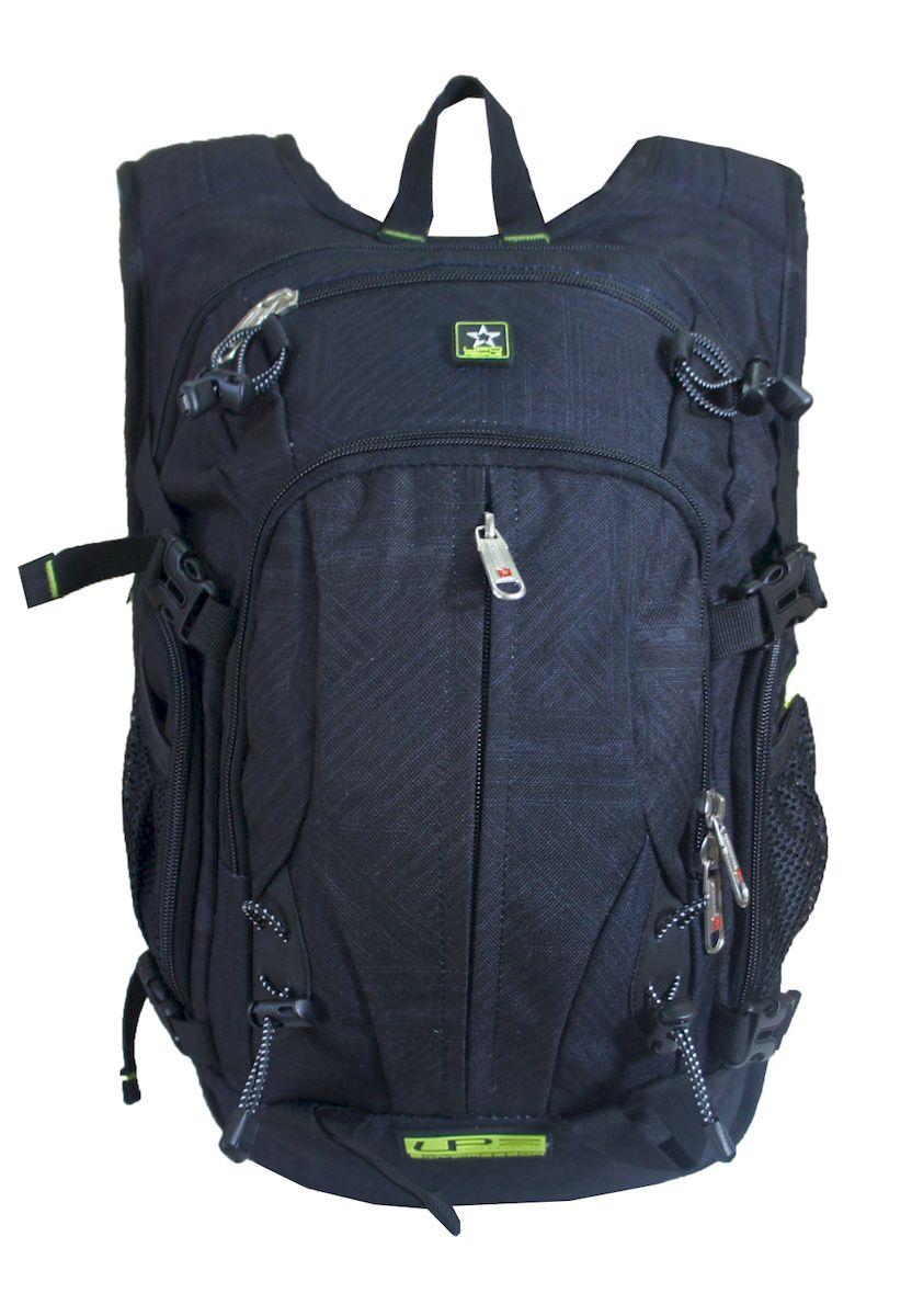 Рюкзак спортивный UFO people, цвет: черный. 17 л. 5871-25871-2Плотная спинка с мягкими вставками. Нагрудный фиксатор лямок. Усиленные нейлоновые нитки. Уплотненное дно. Надежная окантовка тесьмой. Спортивный дизайн. Плотные усиленные лямки.