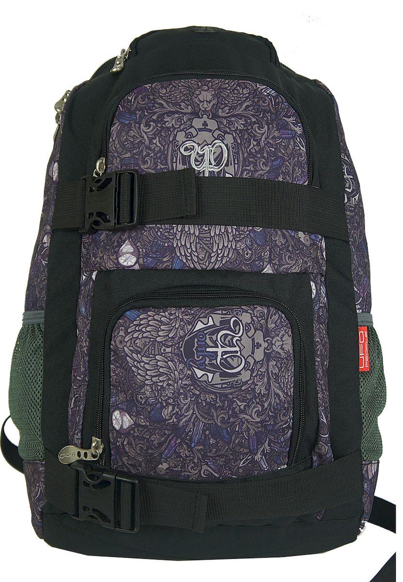 Рюкзак городской UFO people, цвет: фиолетовый. 25 л. 4780