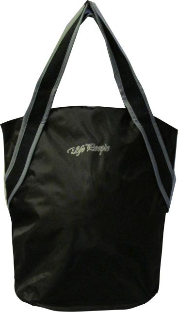 Сумка женская UFO people Гамма, цвет: черный, 15 л. 554554Женская сумка-мешок из нейлона основное вместительное отделение