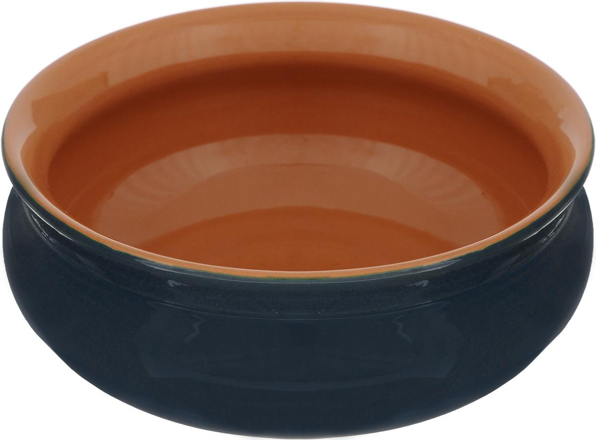 Тарелка глубокая Борисовская керамика Скифская, цвет: черный, оранжевый, 500 млРАД14458194_черный, оранжевыйГлубокая тарелка Борисовская керамика Скифская выполнена из керамики. Изделие сочетает в себе изысканный дизайн с максимальной функциональностью. Она прекрасно впишется в интерьер вашей кухни и станет достойным дополнением к кухонному инвентарю. Такая тарелка подчеркнет прекрасный вкус хозяйки и станет отличным подарком. Можно использовать в духовке и микроволновой печи. Диаметр тарелки (по верхнему краю): 14 см. Объем: 500 мл.