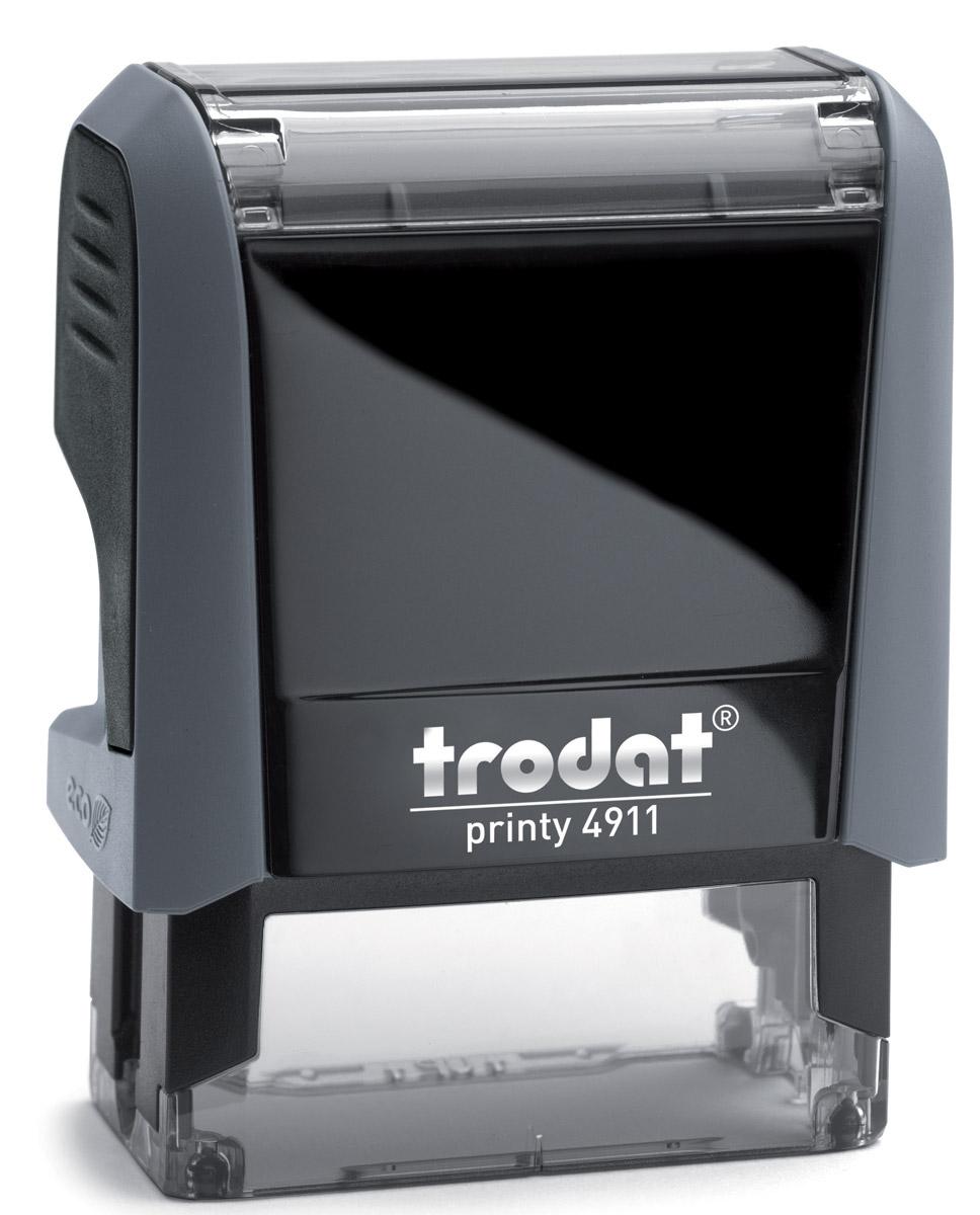 Trodat Штамп текстовый Вход. № с датой4911/ВДШтамп текстовый Trodat будет незаменим в отделе кадров или в бухгалтерии любой компании, а компактный размер позволяет легко оставаться мобильным. Прочный пластиковый корпус гарантирует долговечное бесперебойное использование. Модель отличается высочайшим удобством в использовании и оптимально ложится в руку. Оттиск проставляется практически бесшумно, легким нажатием руки. Улучшенная конструкция и видимая площадь печати гарантируют качество и точность оттиска. Текст оттиска - Вход. №, дата. Цвет оттиска - синий.